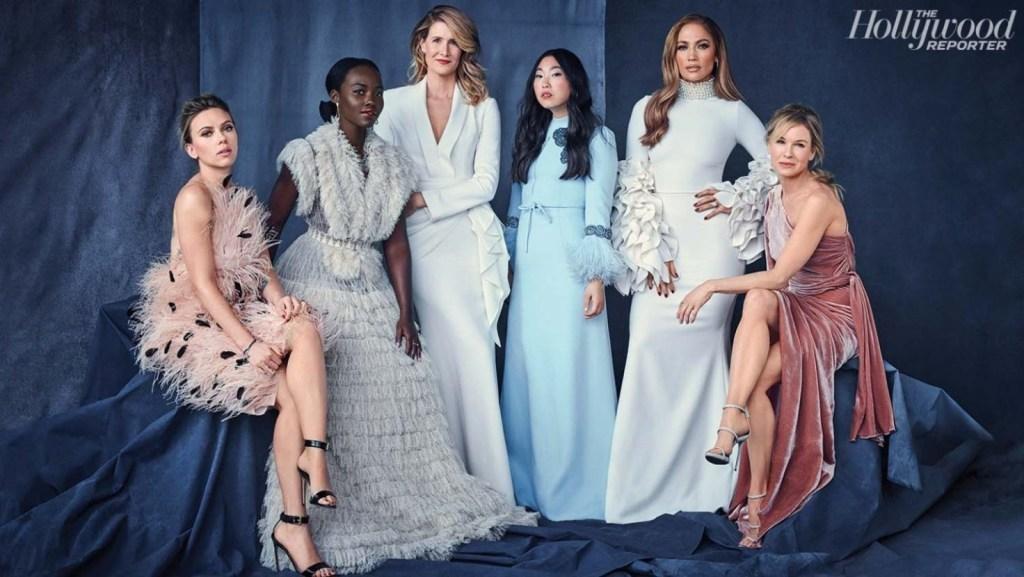 Scarlett Johanson, Lupita Nyong'o, Laura Dern, Awkwafina, Jennifer Lopez e Renée Zellweger: das cotadas pelo THR ao Oscar 2020, três ganharam indicações.