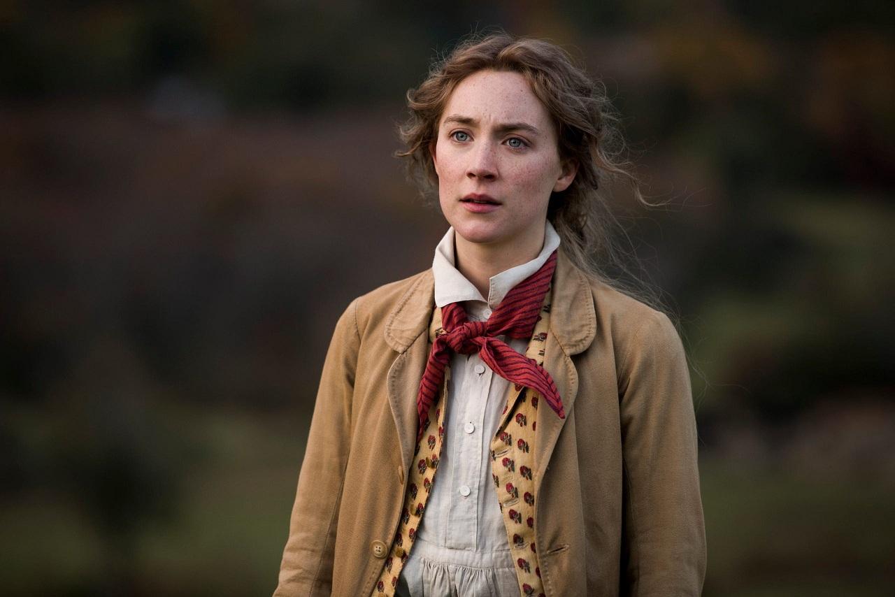 "Jo March (Saoirse Ronan) em ""Adoráveis Mulheres"""