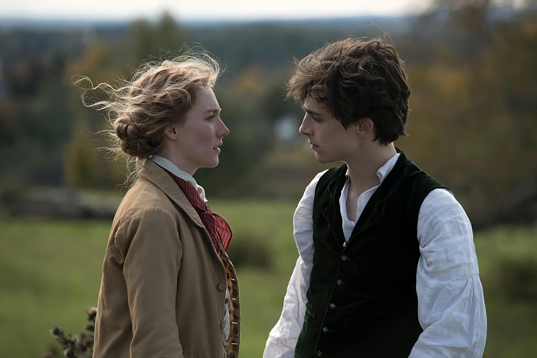 """Jo e Laurie em """"Adoráveis Mulheres"""""""