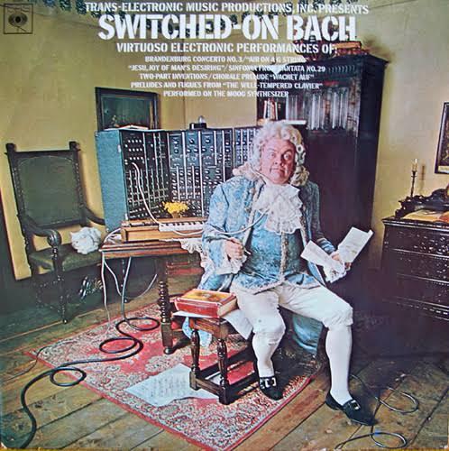 Capa de Switched-On Bach, de Wendy Carlos