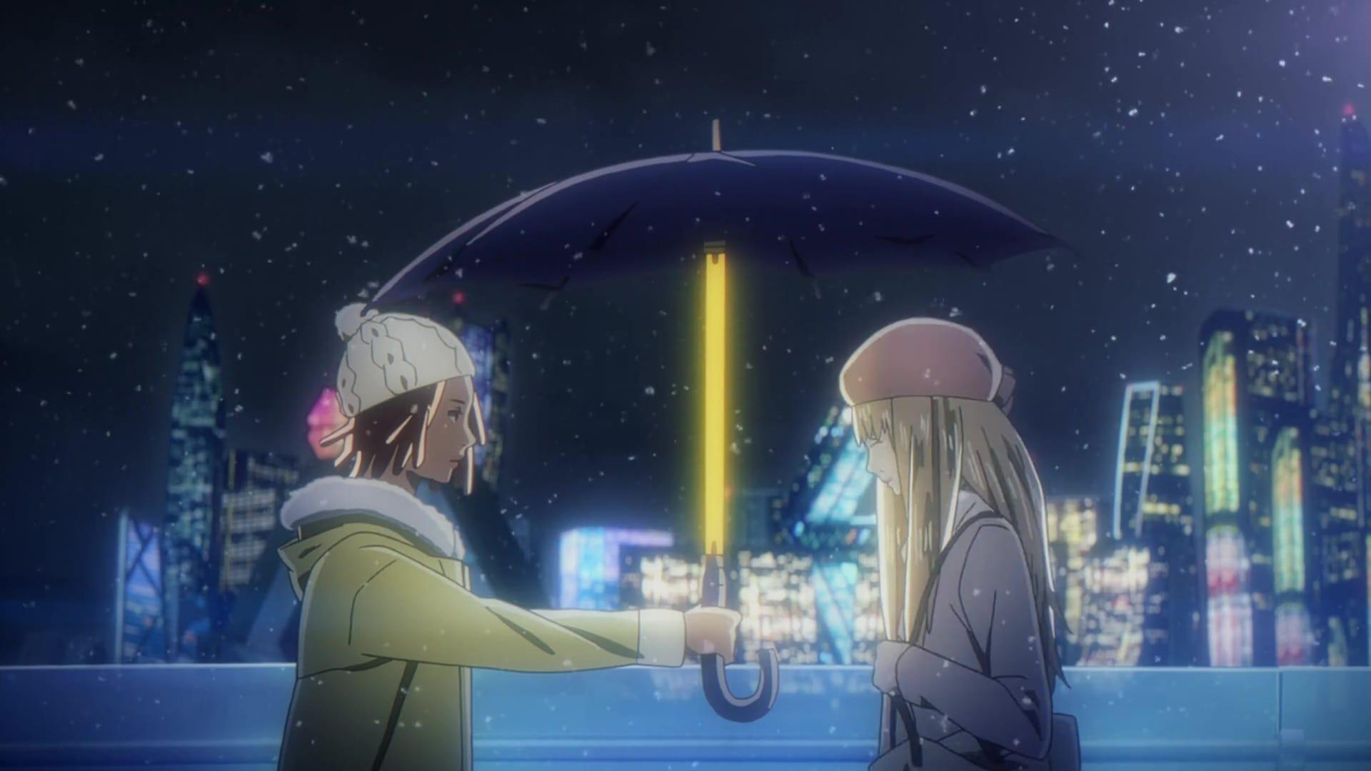 """Cena da segunda parte do anime da Netflix """"Carole e Tuesday"""""""