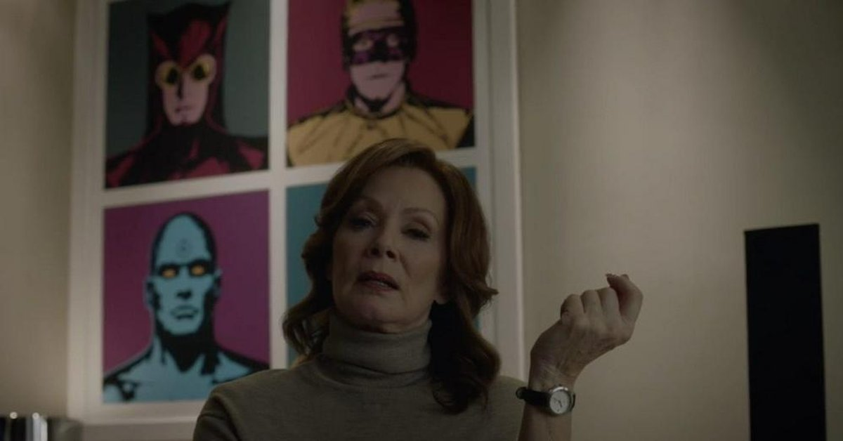 Laurie Blake (Jean Smart) em Watchmen