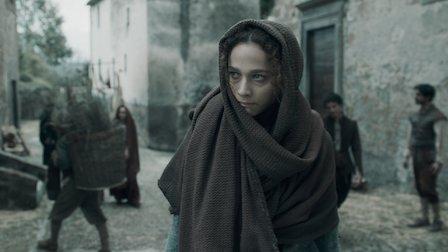 """Ade (Antonia Fontaras) na primeira temporada de """"Luna Nera""""."""