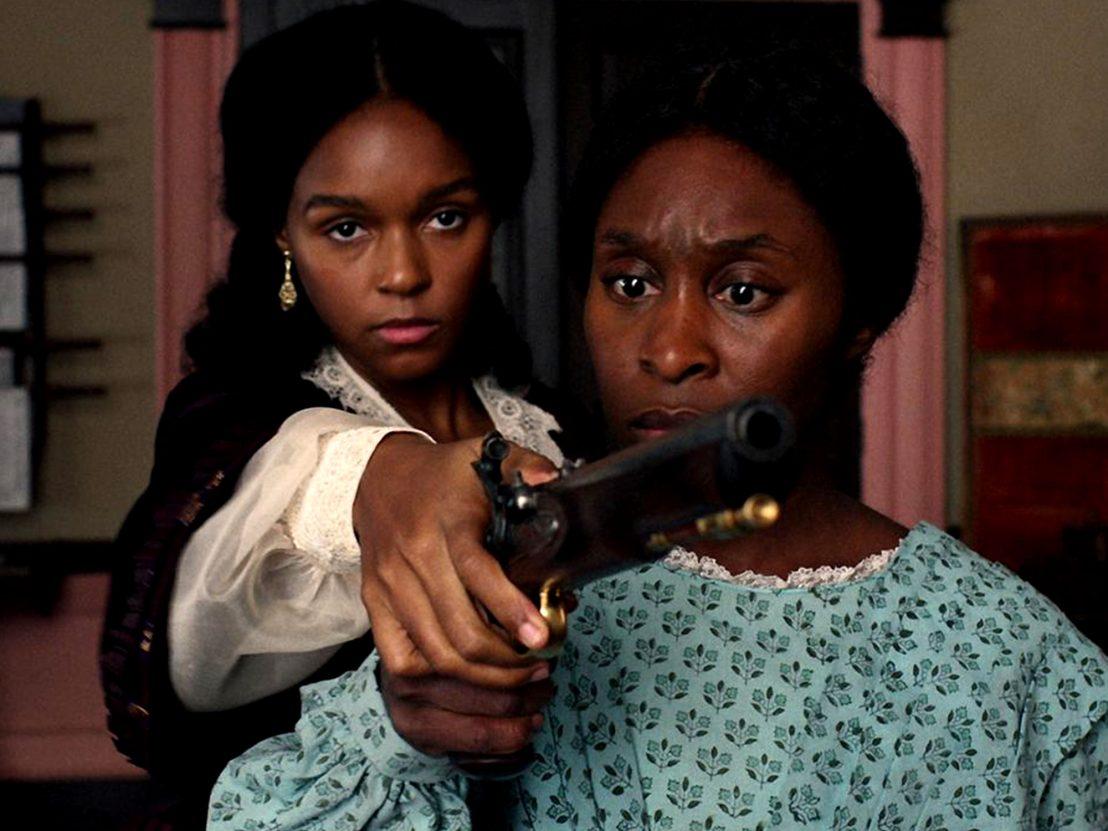 Cynthia Erivo & Janelle Monae em Harriet