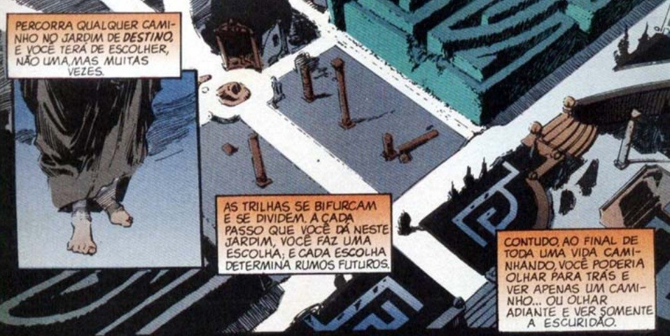 Os Perpétuos masculinos de Sandman: Destino