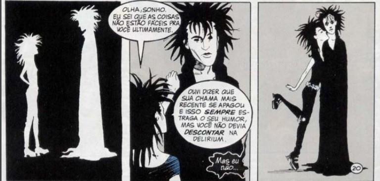 Os Perpétuos masculinos de Sandman: Sonho