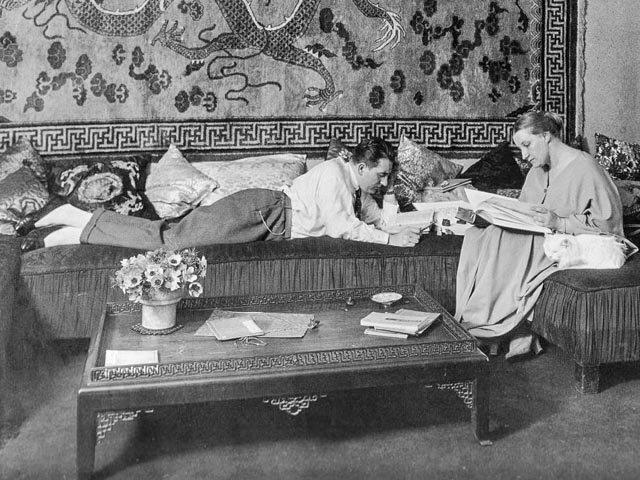 Thea von Harbou e Fritz Lang.