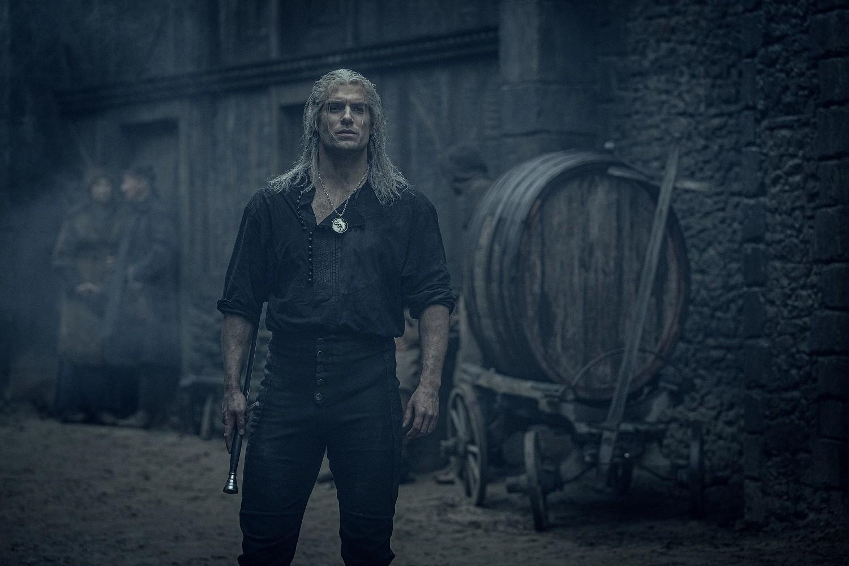 """Geralt de Rívia em """"The Witcher"""""""