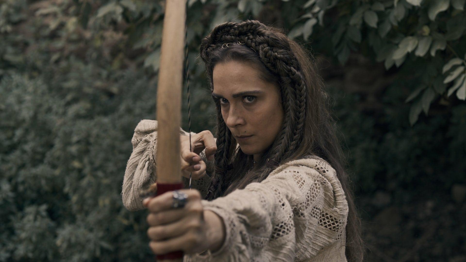 Leptis (Lucrezia Guidone) na série da Netflix.