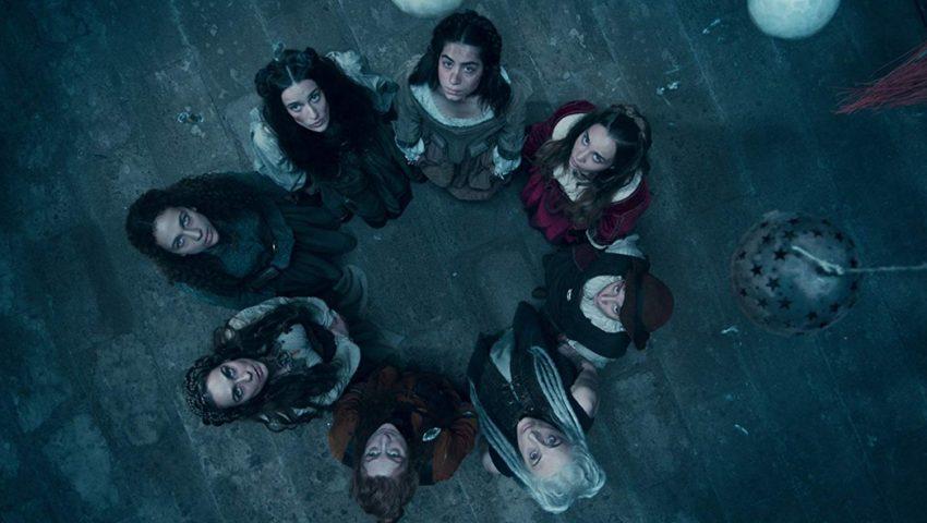 As bruxas da Cidade Perdida na primeira temporada.