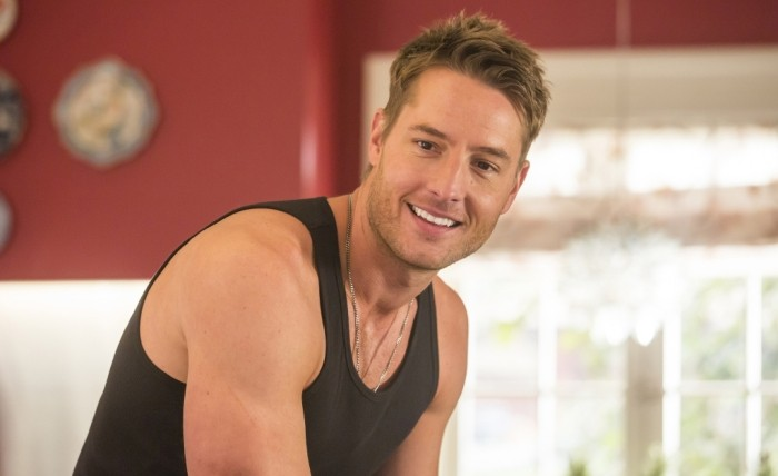Kevin (Justin Hartley) em This is Us.