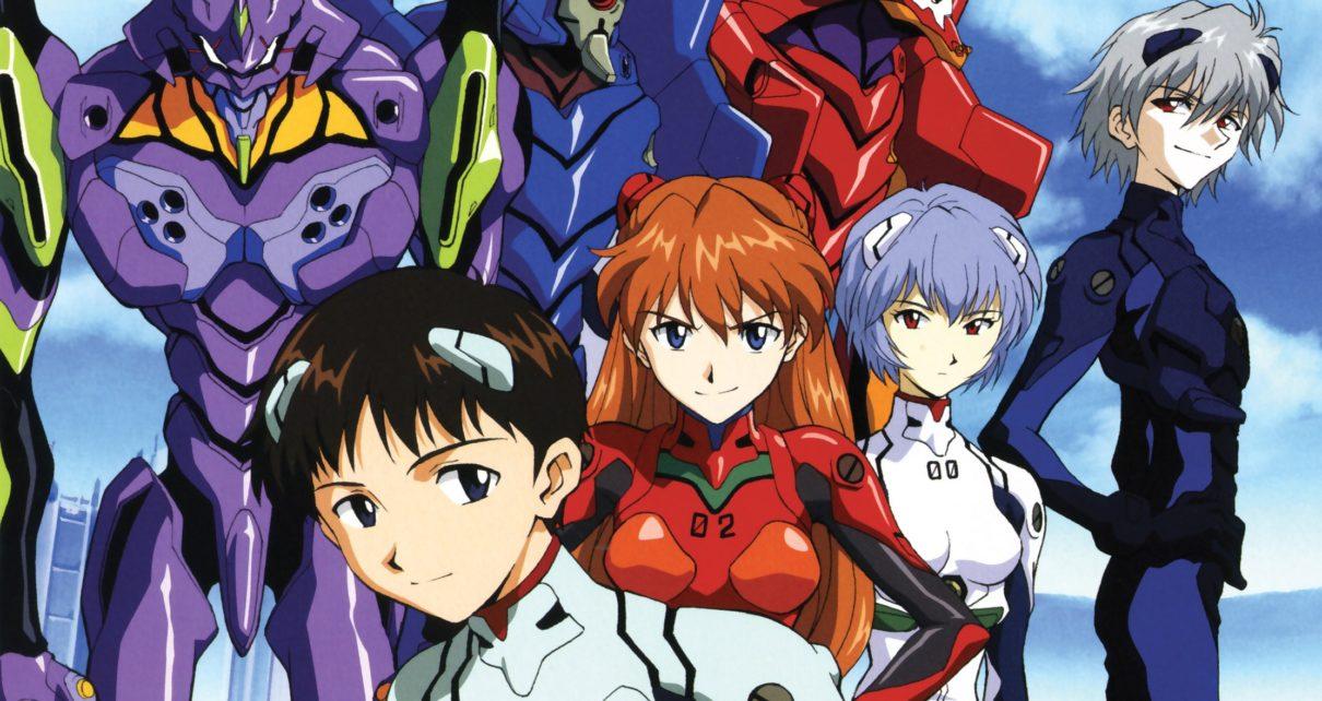 Neon Genesis Evangelion - animes que fizeram história nos anos 90
