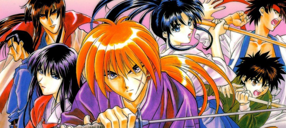 Rurouni Kenshin - animes que fizeram história nos anos 90