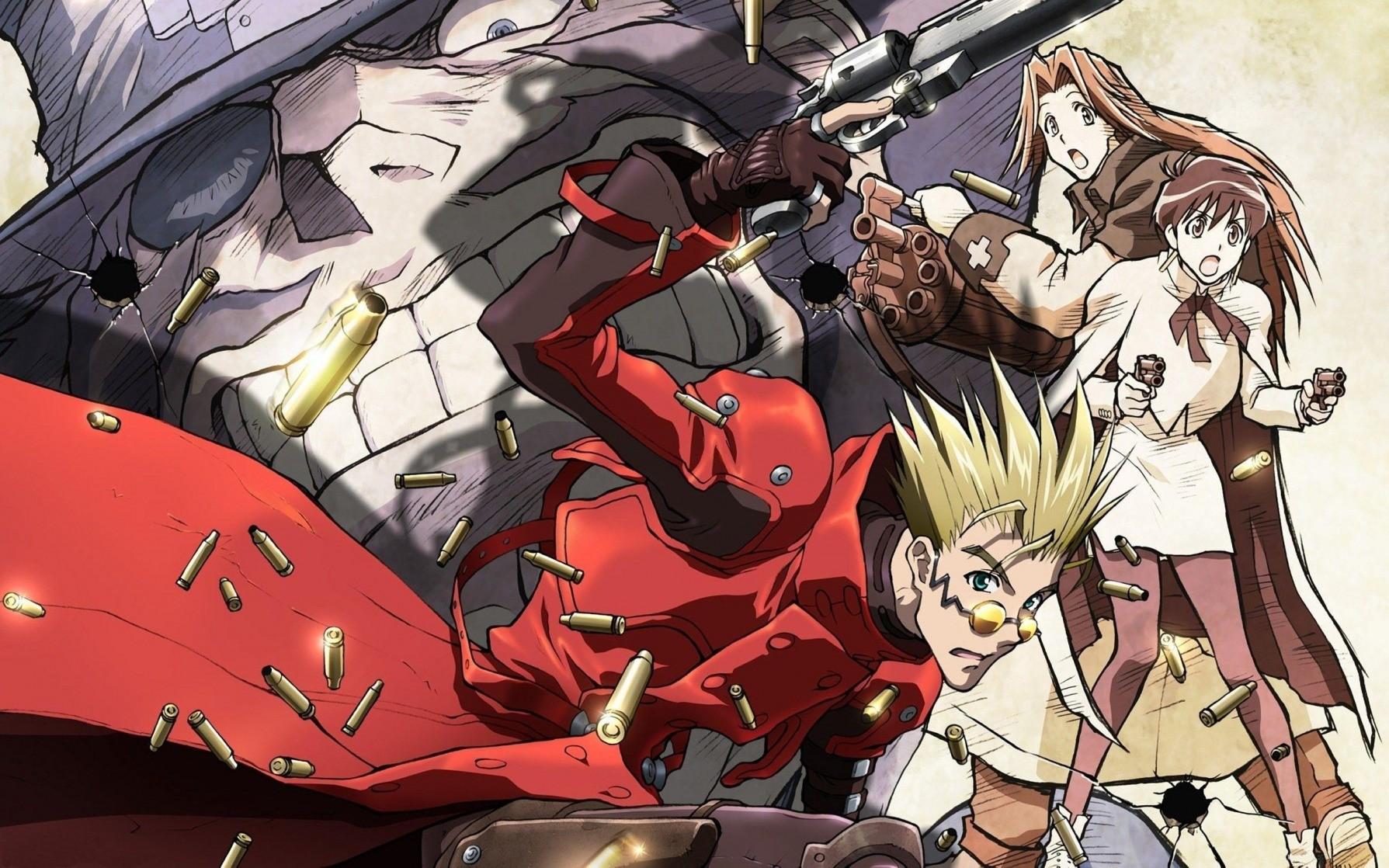 Trigun - animes que fizeram história nos anos 90