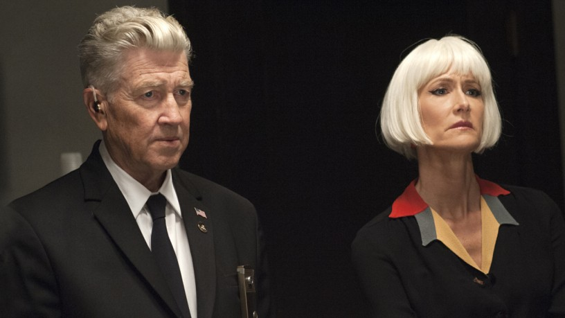 Laura Dern e David Lynch.