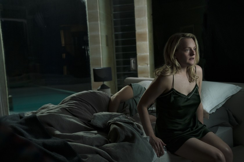 """Elisabeth Moss na primeira cena de """"O Homem Invisível"""""""