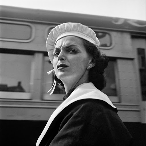 Vivian Maier tinha um talento especial para a captura do momento.