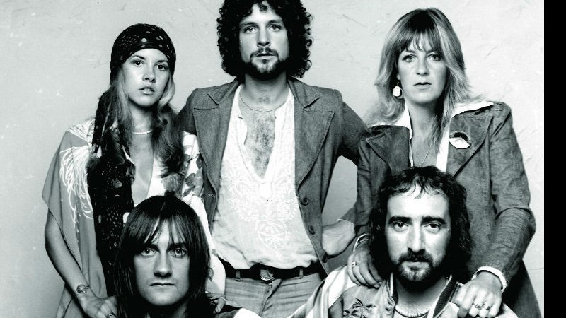 Fleetwood Mac com Stevie Nicks e Lindsey Buckingham.