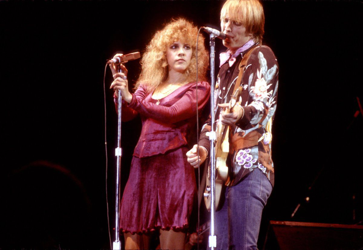 Stevie Nicks e Tom Petty.