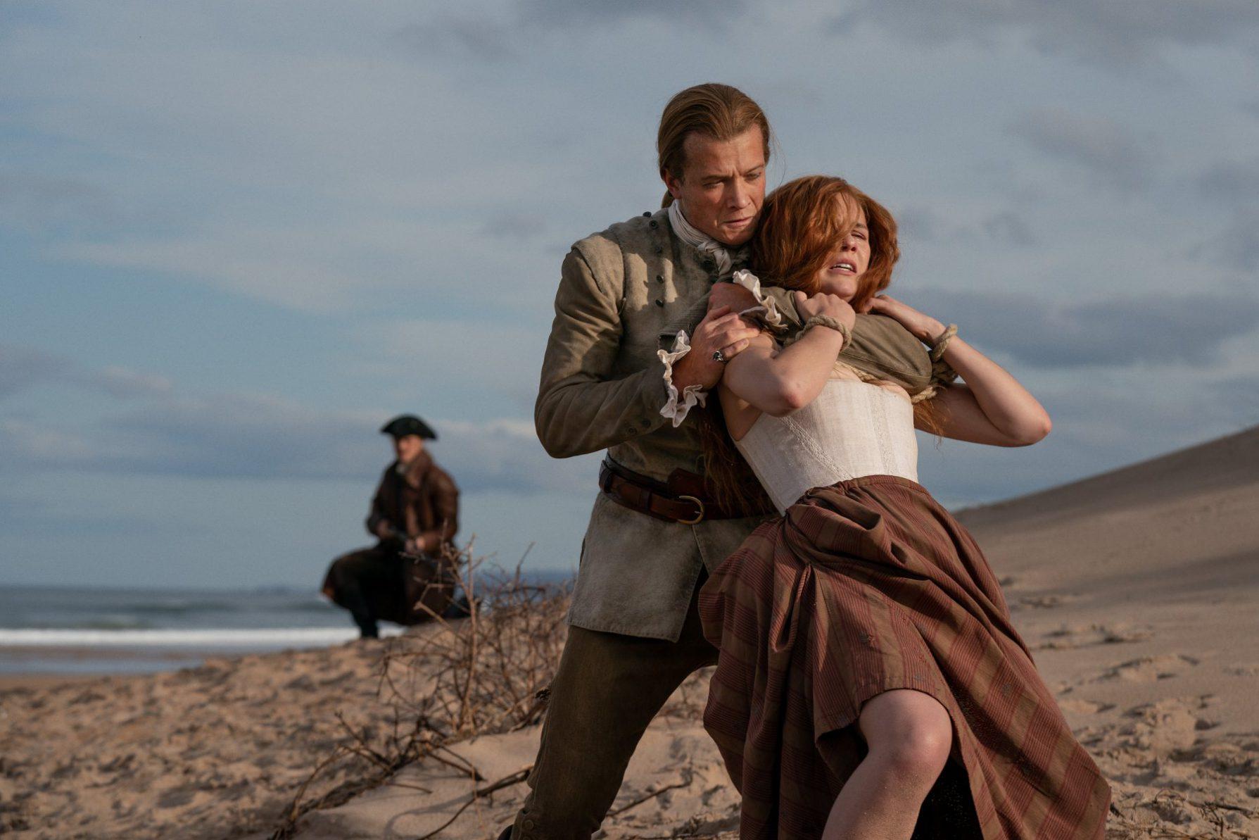 Bonnet e Brianna na 5ª temporada de Outlander