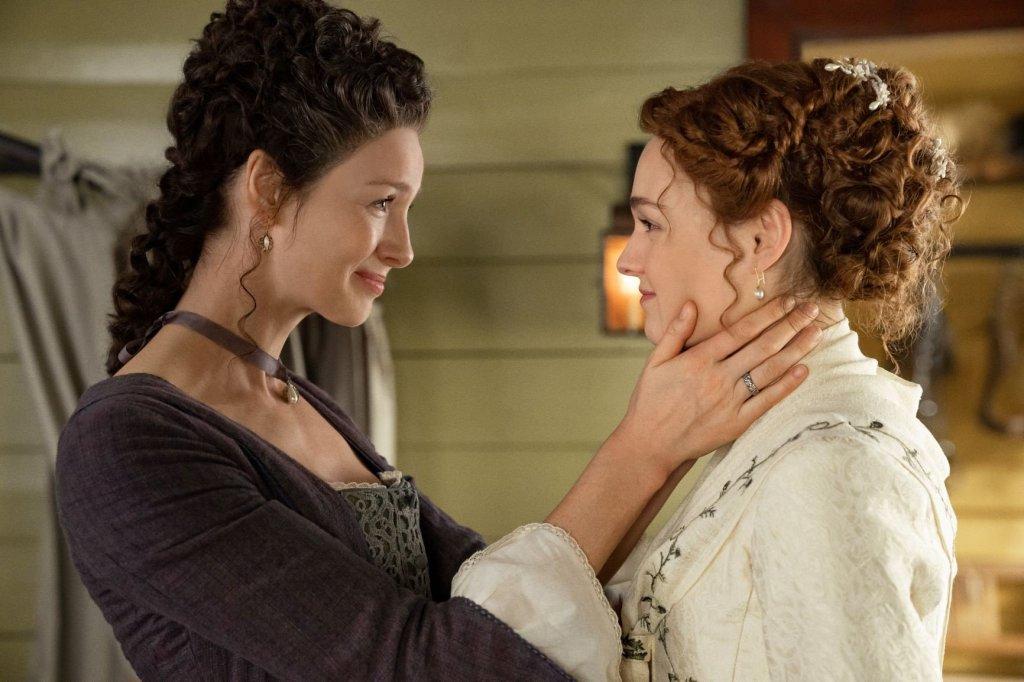 Claire e Brianna na 5ª temporada de Outlander