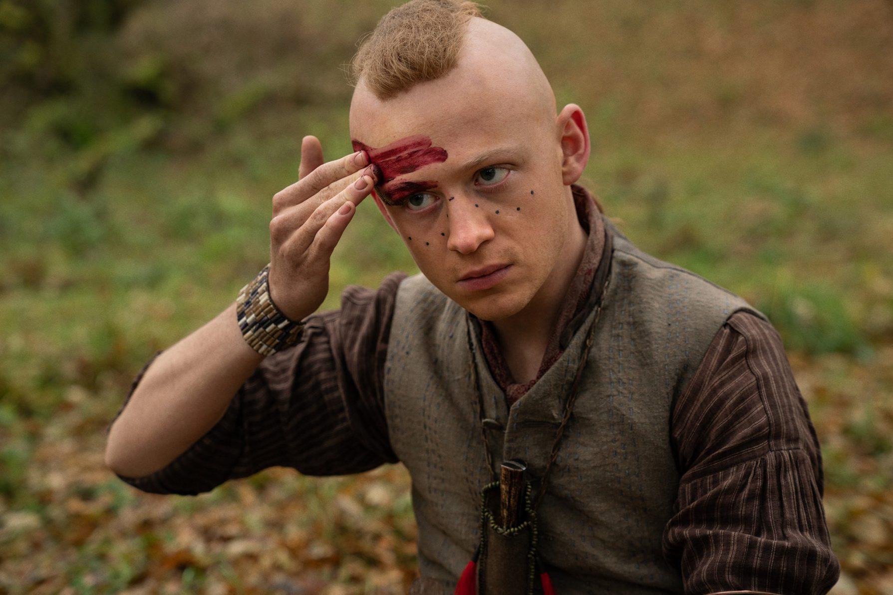 """Ian em cena da 5ª temporada de """"Outlander"""""""