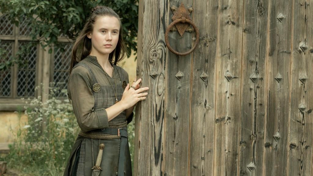 Stiorra (Ruby Hartley) em The Last Kingdom.