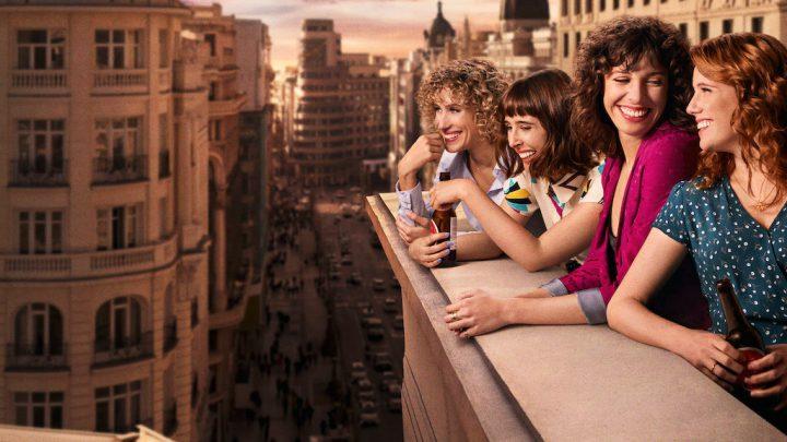 "Diana Gómez, Silma López, Teresa Riott, e Paula Malia em ""Valéria"" (2020)"