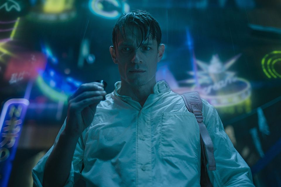 "Cena da série ""Altered Carbon"""