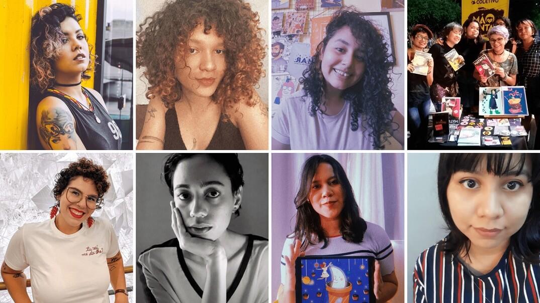8 ilustradoras e quadrinistas do norte brasileiro que você precisa conhecer