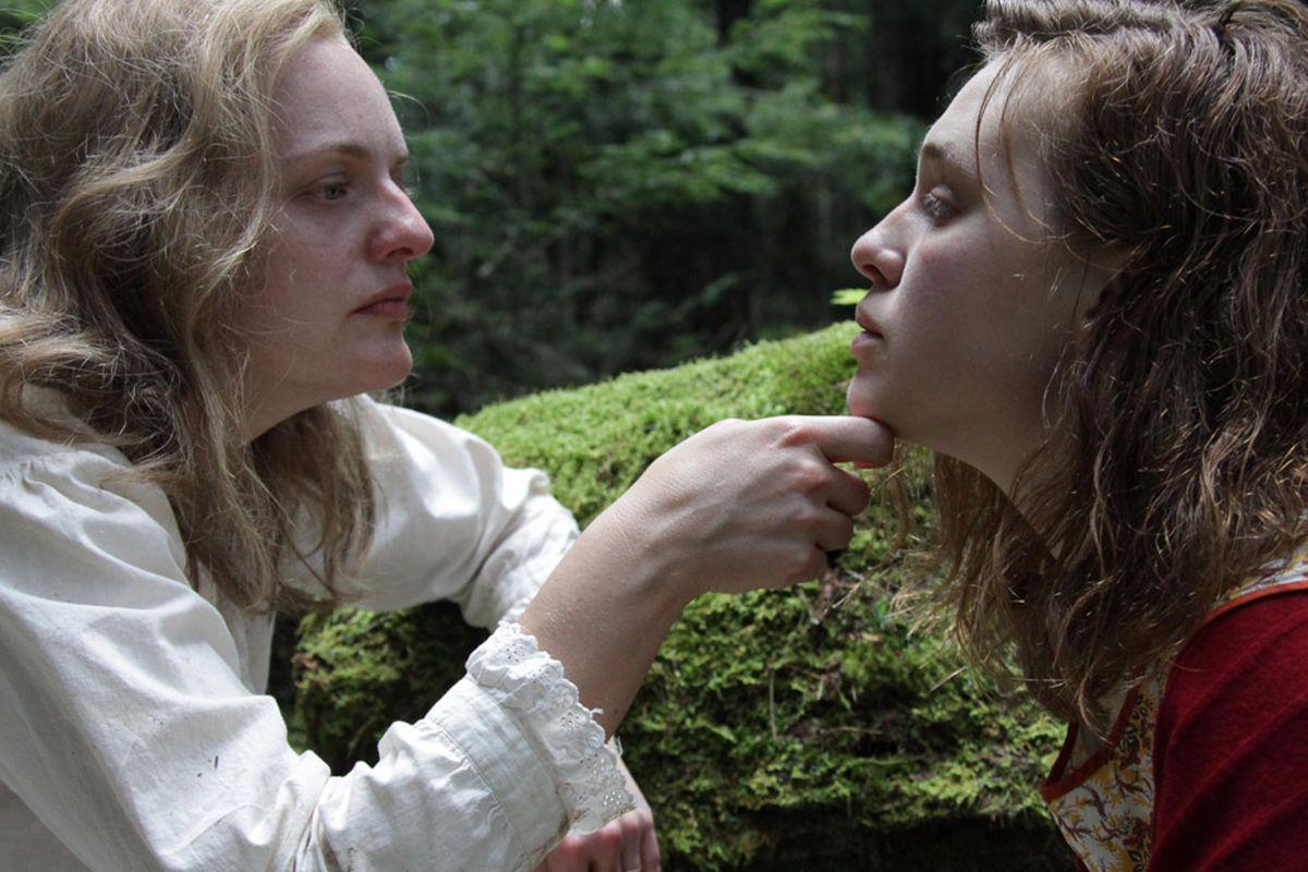 """Elisabeth Moss e Odessa Young em cena de """"Shirley""""."""
