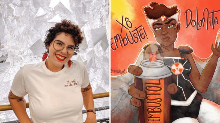 Amanda Gil -  ilustradoras e quadrinistas do norte brasileiro