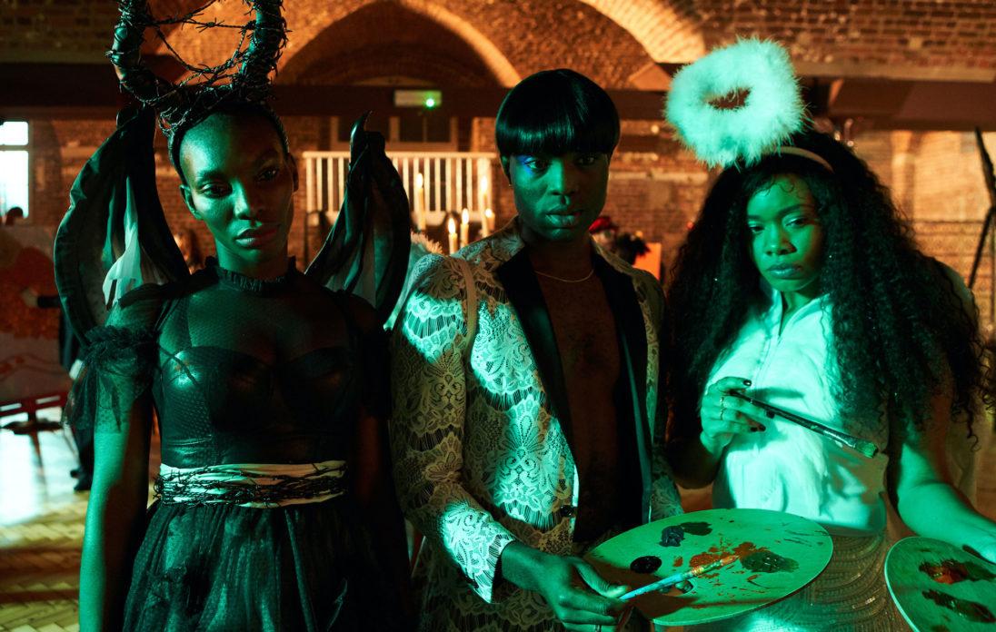 Arabella, Kwame e Terry na season finale de I May Destroy You.