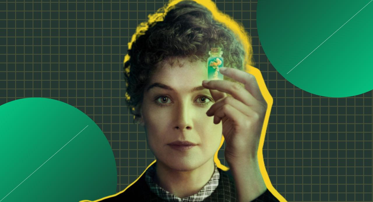 """A Marie Curie de """"Radioactive"""" e """"A ridícula ideia de nunca mais te ver"""""""