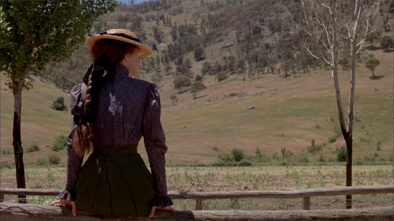 "Sybylla (Judy Davis) em ""My Brilliant Career"" (1979), de Gillian Armstrong,"