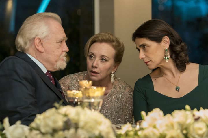 Gerri e Marcia aconselhando Logan.