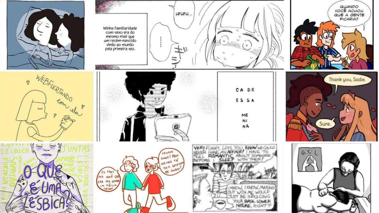 10 quadrinhos para se pensar em visibilidade lésbica