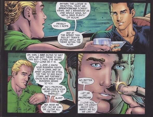 Lanterna Verde - personagens LGBTQ nos quadrinhos