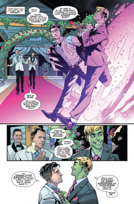 Hulking e Wiccano - personagens LGBTQIA+ nas HQs