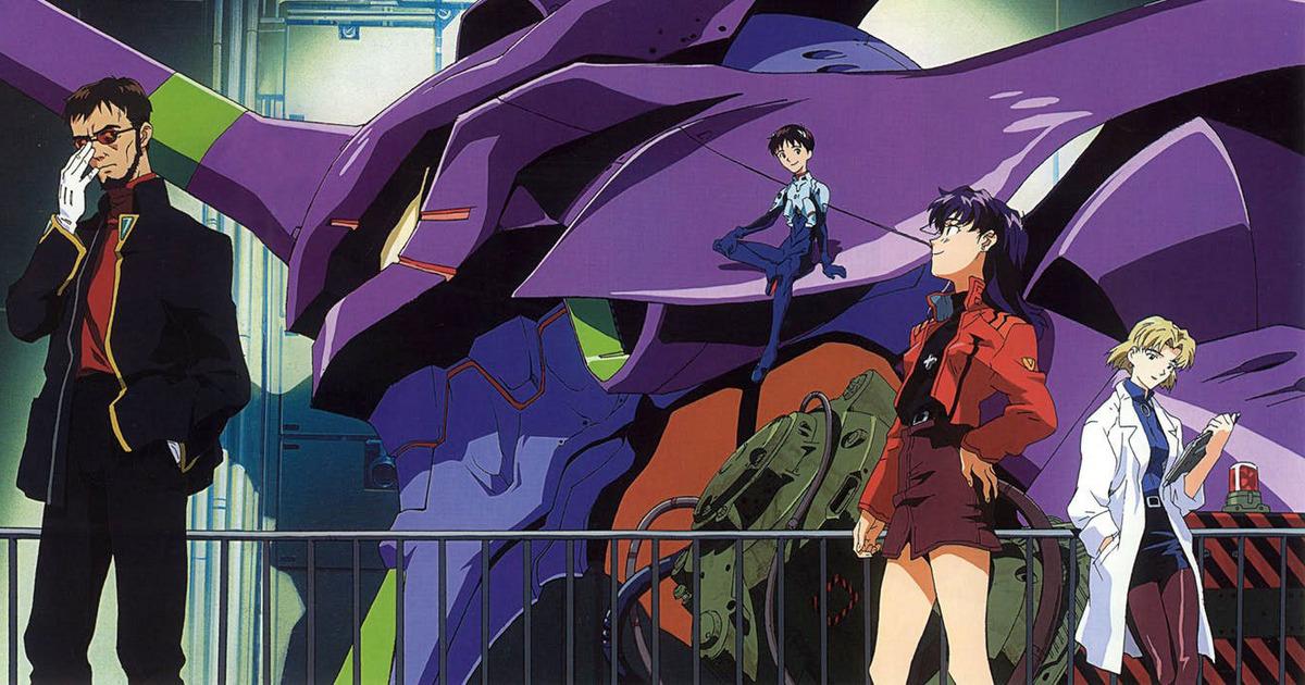 Neon Genesis Evangelion - anime