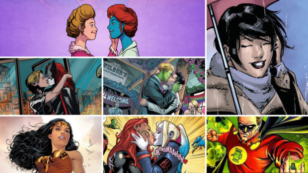 Personagens LGBTQIA+ nos quadrinhos mainstream