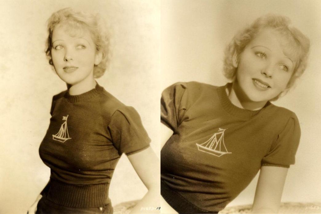 Uma jovem Ida Lupino