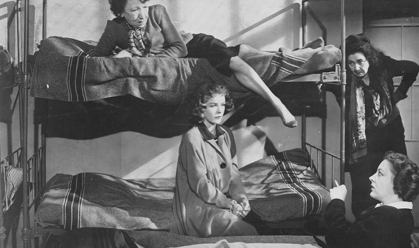 """A atriz Sally Forrest em cena de """"Not Wanted"""" (1949)"""