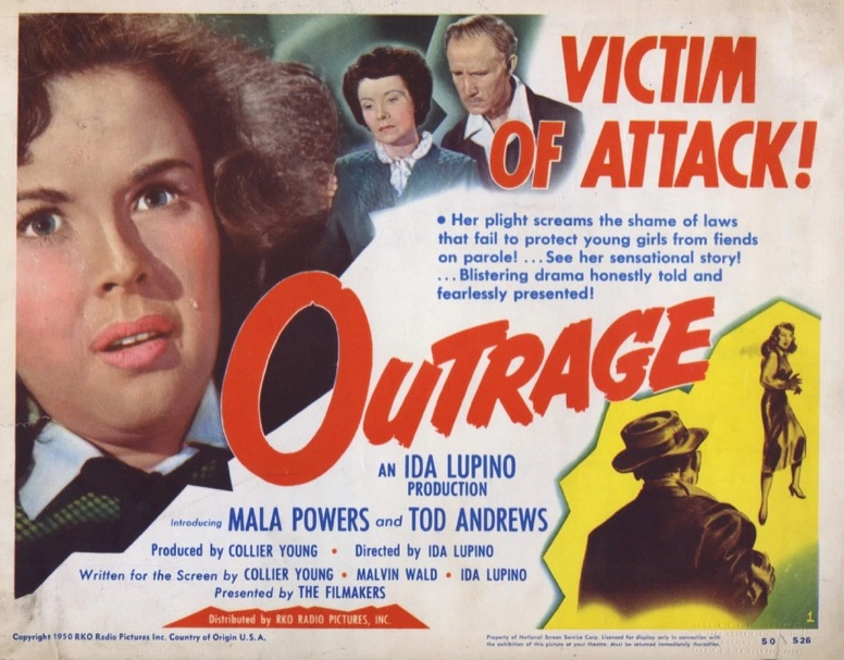"Cartaz de ""Outrage"" (1950)"