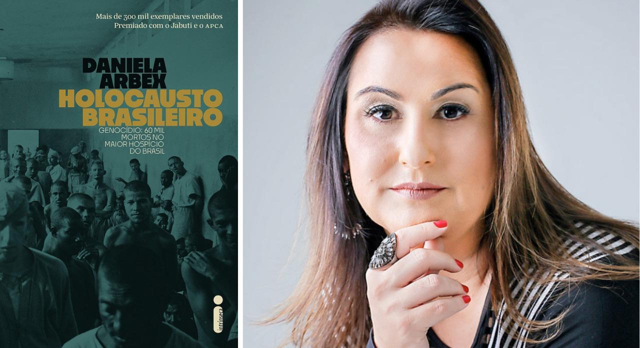 """Capa do livro """"Holocausto Brasileiro"""", da autora Daniela Arbex."""