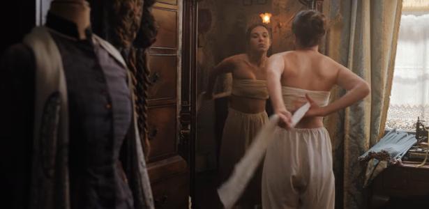 "Cena de ""Enola Holmes"", filme da Netflix."
