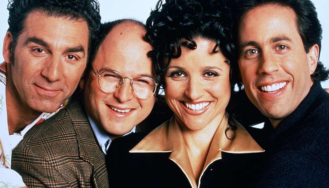 O elenco de Seinfeld.