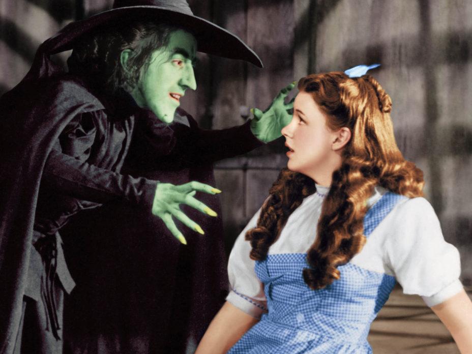 Cena do filme O Mágico de Oz