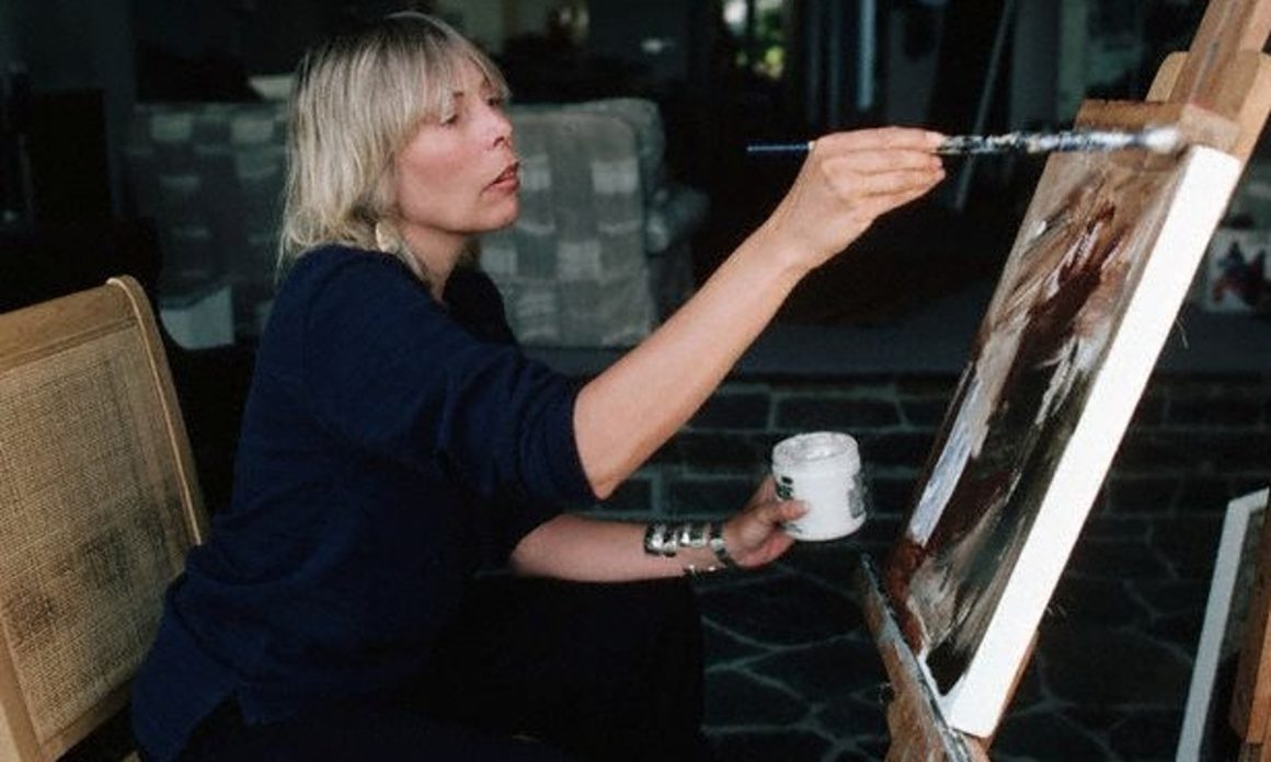 Joni Mitchell pintora