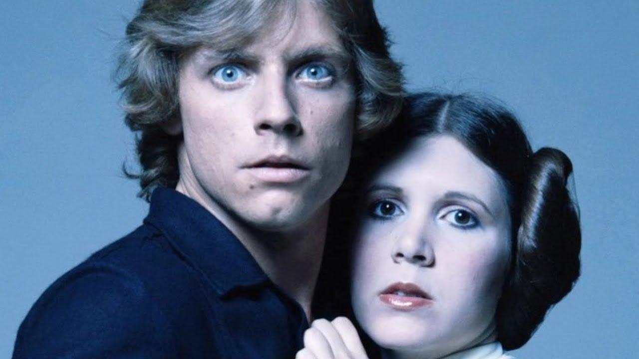 Luke Skywalker e Leia Organa - ficção científica
